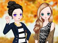 Jouer à L'automne en veste