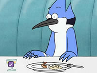 Jeu Regular Show - Spot the Difference