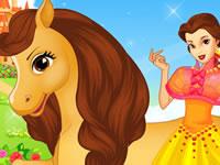 Jeu Belle et son cheval Philippe