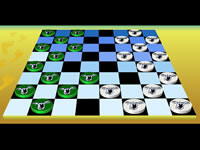 Jeu Checkers Board