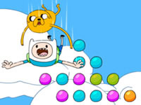 Jeu Jake and Finn's Candy Dive