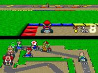 Jeu Super Mario Kart