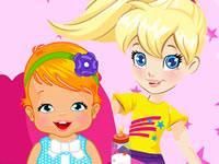 Jeu Polly Pocket Babysitter