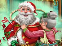 Jeu La tenue du Père Noël