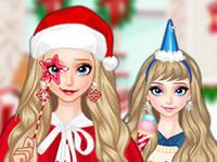 Jeu Elsa - Costumes de Noël