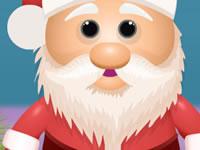 Jeu Gâteaux Père Noël avec du glaçage