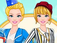 Jeu Barbie Hôtesse de l'air à Paris