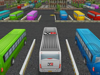 Jeu Bus Parking 3D World