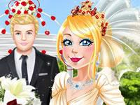 Jeu 3 tenues de mariage pour Barbie