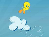 Jeu gratuit Tweety's Cloud Jumper
