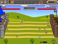 Jeu Knight Attack Castle Defense