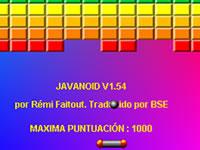 Jeu JavaNoid (version ES)