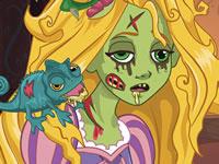 Jeu Raiponce Malédiction Zombie