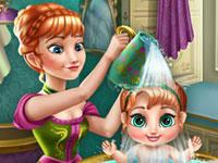 Jouer à Anna et sa fille