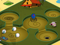 Jeu gratuit Cartoon Cove Mini Golf