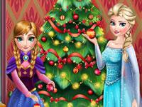Jeu Le sapin de Noël de La Reine des Neiges