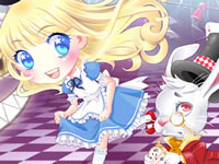 Jeu Mignonne Alice au Pays des Merveilles