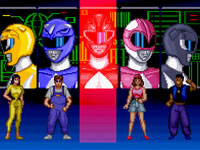 Jeu Mighty Morphin Power Rangers