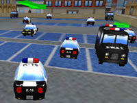 Jeu Police Cars Parking