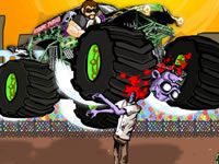 Jeu Monster Truck Zombie Crusher