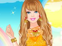 Jeu Barbie Tenue Tendance
