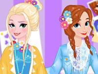 Jeu Elsa et Anna - Tendances de printemps