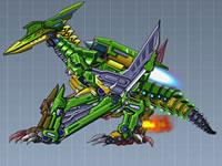 Jeu Puzzle Robot Dinosaure Pterosaure