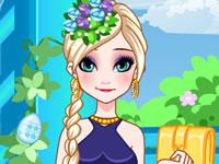 Jeu Anna et Elsa - Styles de Pâques