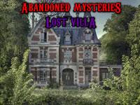 Jeu Abandoned Mysteries Lost Villa