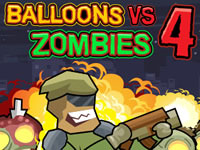 Jeu Balloons Vs Zombies 4