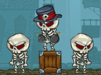 Jeu Van Helsing vs Skeletons 2