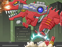Jeu Dino Robot - T-rex
