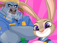 Jeu Zootopie - Judy au travail