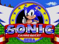Jeu Sonic Chaos Quest