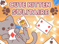 Jeu Cute Kitten Solitaire
