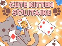 Jouer à Cute Kitten Solitaire