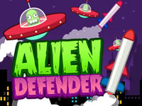 Jeu Alien Defender