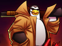 Jeu gratuit Zombies vs Penguins 4