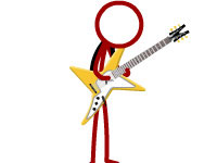 Jeu Super Crazy Guitar Maniac Deluxe 3