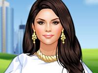 Jouer à Selena Gomez en ville