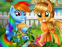 Jouer à Mon Petit Poney - Jardin enchantu00e9