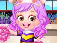 Jeu Bébé Hazel pom-pom girl