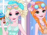 Jeu Elsa et Anna DIY - Lunettes de soleil