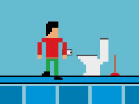 Jeu Reach the Toilet 2