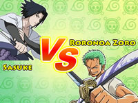 Jeu gratuit One piece VS Naruto CR - Zoro