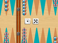 Jeu Summer Backgammon