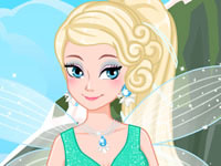 Jeu Fée des glaces Elsa