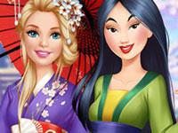 Jouer à Barbie rend visite u00e0 Mulan