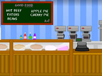Jeu Toon Escape - Diner