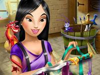 Jeu Mulan et son épée